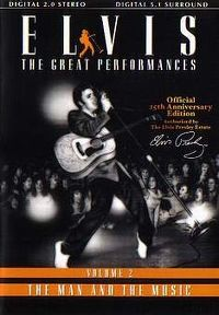 Cover Elvis Presley - Elvis - The Great Performances - Volume 2 - The Man And The Music [DVD]